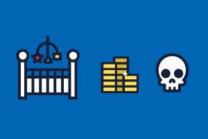 Imagen destacada: Los impuestos de la cuna a la tumba