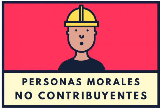 personas morales no contribuyentes